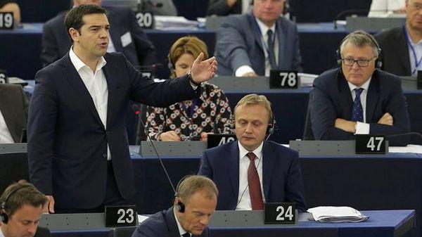 8.7.2015_Αλέξης Τσίπρας - Ας μη διαιρέσουμε την ενωμένη Ευρώπη
