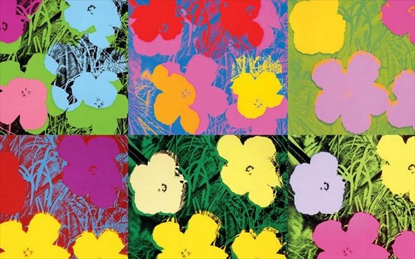 7.9.2015_Andy Warhol - Flowers (1970)