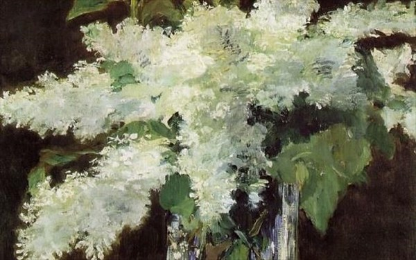 7.9.2015_Manet - Lilacs in a Vase (περίπου το 1882)