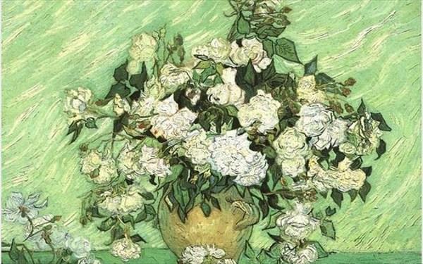 7.9.2015_Van Gogh - Vase with Pink Roses (1890)