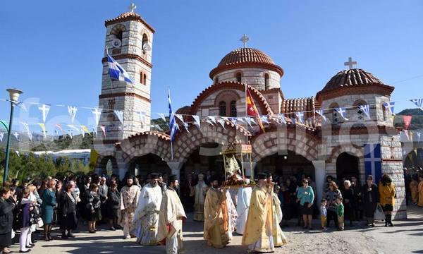 10.11.2015_ Η εορτή του Αγίου Νεκταρίου στη Συκέα_1