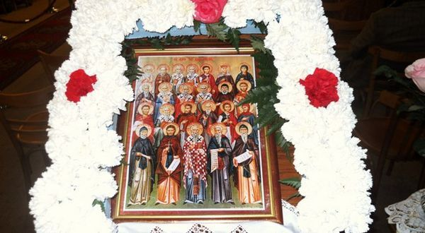 21.3.2016_Η εορτή των Λακώνων Αγίων στον ΙΝ Αγίου Νικολάου Σπάρτης