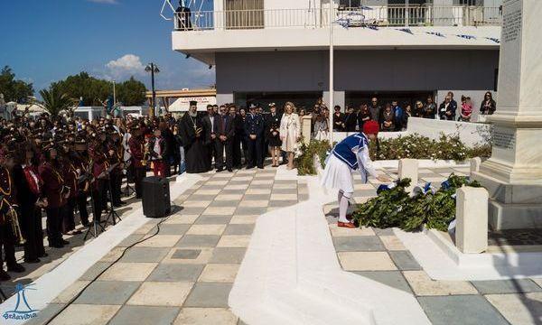 26.3.2016_Με λαμπρότητα εορτάστηκε η 25η Μαρτίου 1821 στο Δήμο Μονεμβασίας_Νεάπολη