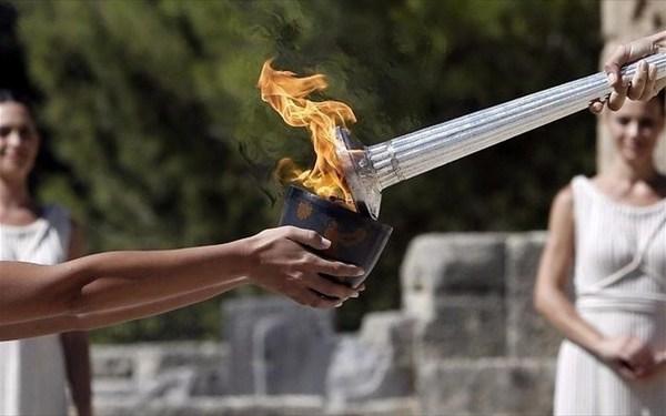 16.4.2016_Αφή της Ολυμπιακής Φλόγας και Πολιτισμός