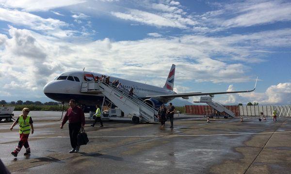 6.5.2015_Η πτήση 644 Λονδίνο - Κλαμάτα με τη British Airways είναι πραγματικότητα