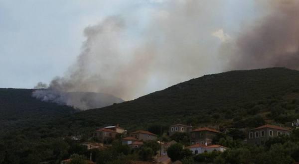 21.7.2016_Υπό έλεγχο η πυρκαγιά που ξέσπασε σε Τάλαντα Άγιο Νικόλαο και Λιρά Μονεμβασίας