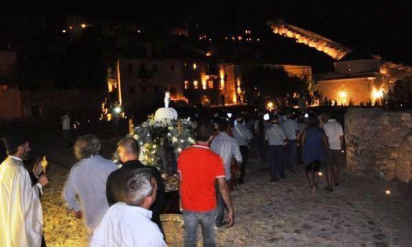 16.8.2016_Σε κλίμα κατάνυξης ο εορτασμός της Παναγίας στην ιστορική Μονεμβασία_7