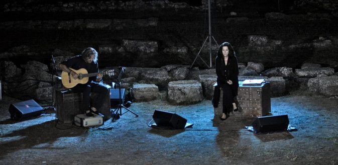 30.8.2016_Η Σονάτα του Σεληνόφωτος του Γιάννη Ρίτσου στο Άρχαίο Θέατρο Μαντινείας