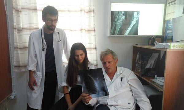 5.8.2016_Εκπαίδευση Φοιτητών Ιατρικής στο Κέντρο Υγείας Αρεόπολης
