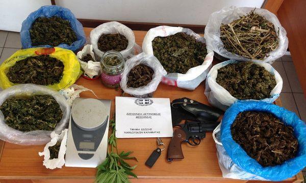 2.11.2016_Συλλήψεις-για-ναρκωτικά-λαθραίο-καπνό-και-αρχαία-στο-Πεταλίδι-Μεσσηνίας