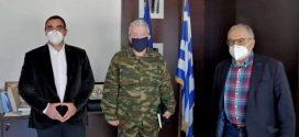 Ο Αντιπεριφερειάρχης Λακωνίας υποδέχθηκε το νέο Διοικητή του ΚΕΕΜ