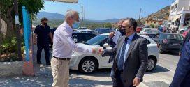 Δομές Υγείας στη Λακωνία επισκέφθηκε ο Αν. Υπουργός Βασίλης Κοντοζαμάνης