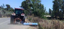 Λακωνία: Καθαρίζεται στο σύνολό του το εθνικό και επαρχιακό οδικό δίκτυο