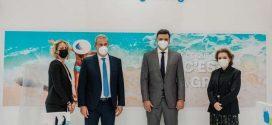 Ο υπουργός Τουρισμού Βασίλης Κικίλιας στην τουριστική έκθεση Top Resa στο Παρίσι