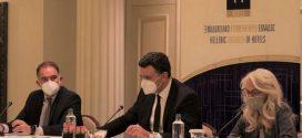 Ο Υπουργός Τουρισμού Βασίλης Κικίλιας στο Δ.Σ του Ξενοδοχειακού Επιμελητηρίου